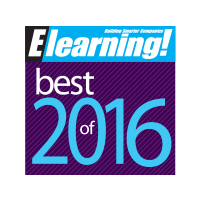 Best of Elearning 2016 award