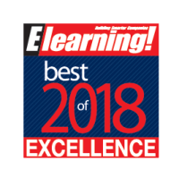 Best of Elearning 2018 award
