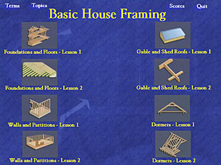 building basic house framing