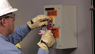 lockout tagout and machine guarding