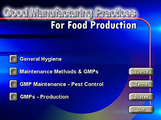 GMP: Good Manufacturing Practices for Food Production