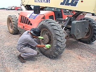 Course screen