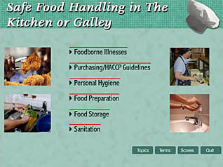 Food Handling: Safe Food Handling in the Kitchen and Galley